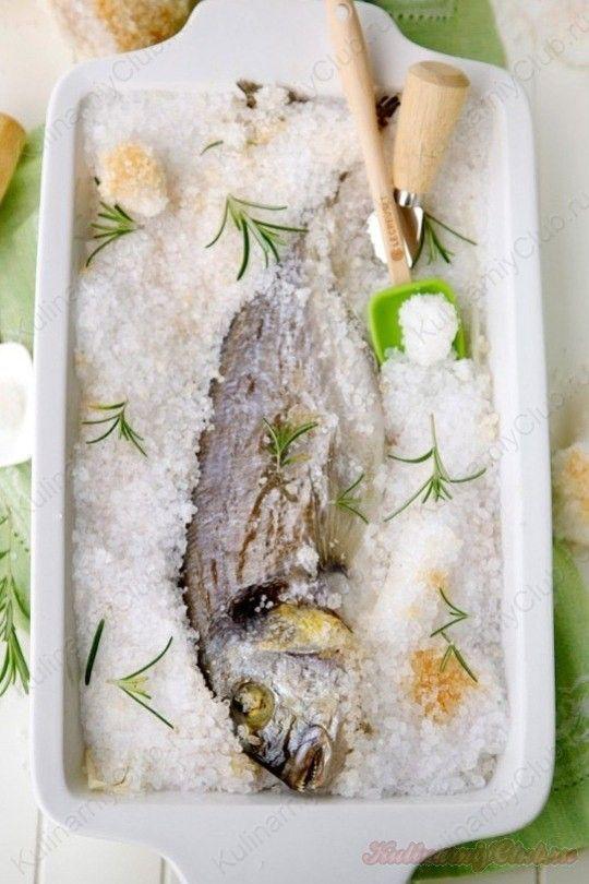 Дорадо под соляной коркой on http://kulinarniyclub.ru Fish