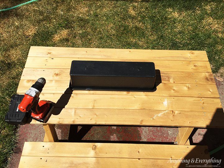 Turn A  34 Home Depot Picnic Table Into The Coolest Activity Spot For Kids. Best 20  Picnic table kit ideas on Pinterest   Decorative bird