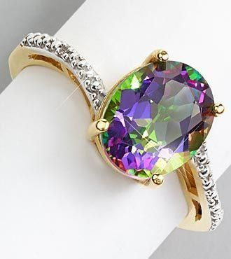 mystic topaz ring...pinned by ♥ wootandhammy.com, thoughtful jewelry.