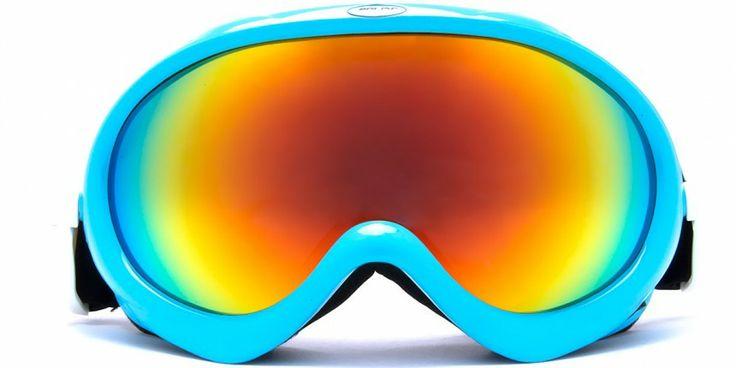 Agate Sky Cyan - Men's and Women's Ski Goggles | Polisi Ski Goggles