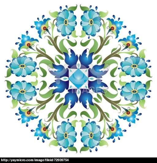 blue ottoman serial patterns twenty-four