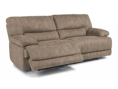 Shop+for+Flexsteel+Fabric+Power+Reclining+Sofa,+1458-62P,+and+other+Living+Room+Two+Cushion+Sofas+at+Kemper+Home+Furnishings+in+London+and+Somerset,+KY.+Extremely+generous+cushioning+and+legroom.