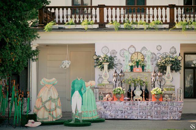 Бирюзово-коралловая свадьба