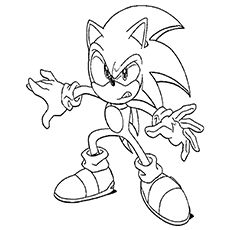 33 Best Coloring Sonic The Hedgehog Images On Pinterest