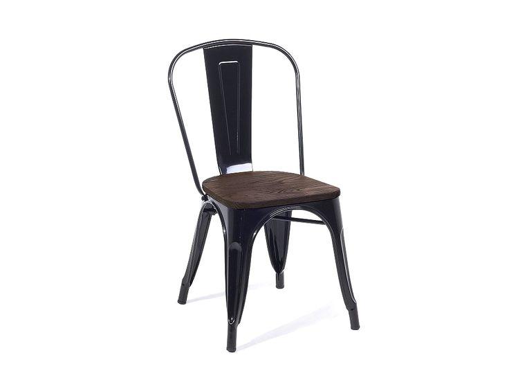 Genial stuhl schwarz holz