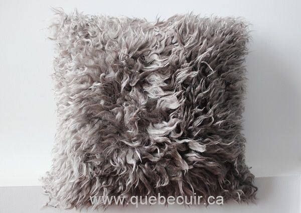 Angora Goat Pillow 75 Cowhide Pillows Angora Goats