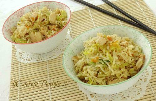Riso basmati con pollo e verdure - Ricette Facili con foto