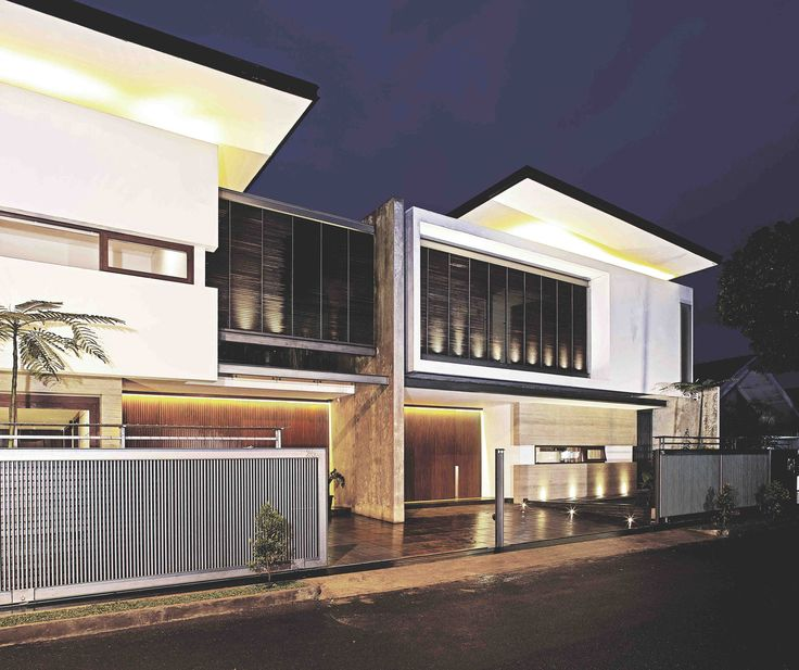 Sister House Image 1. Project : 2628 Sister House Location : Bandung, Indonesia Site Area : 597 m2 Building Area : 600 m2 Design Phase : 2011 Constrution Phase : 2011 - 2013 Description : 2 houses being designed as one building with 2 families live there.  #architect #bandung #jakarta #architectindonesia #archdaily