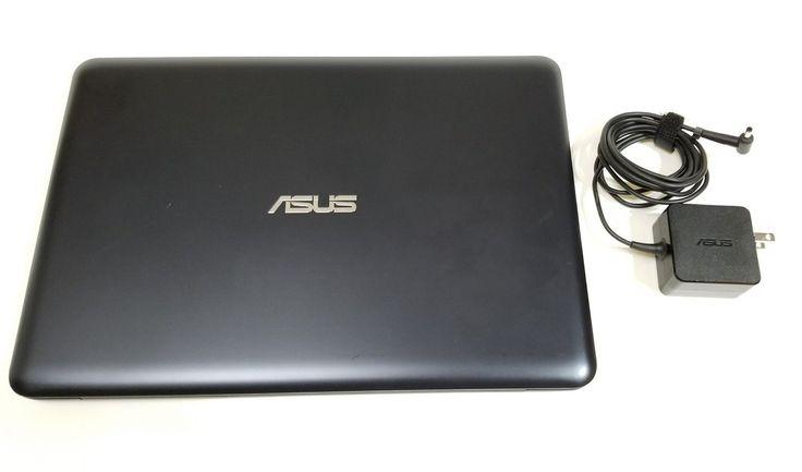 ASUS L402 SAWH02 Lightweight Laptop PC Intel Dual Core 4GB RAM 32GB Flash Win 10