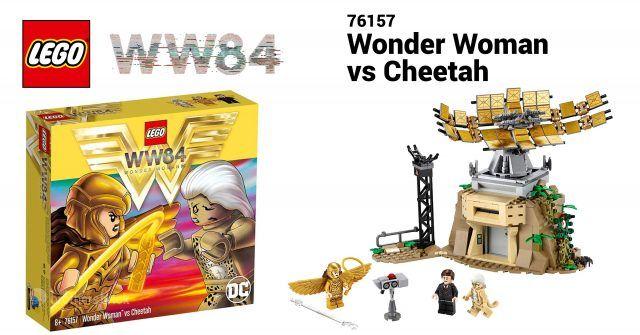 Wonder Woman 1984 Lego Set Revealed As 76157 Wonder Woman Vs Cheetah News In 2020 Lego News Lego Sets Lego