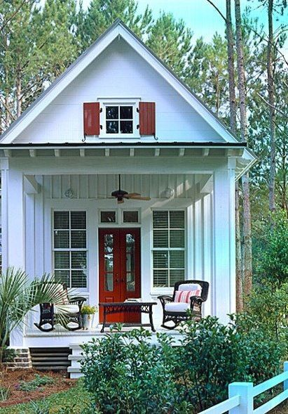 Tiny homes can make for big contentment. Not to mention darn adorable. or use as office space.