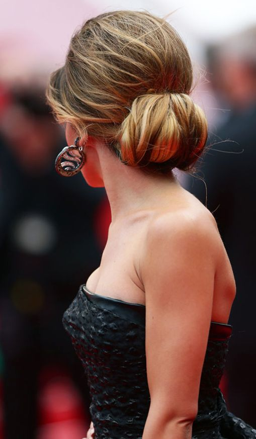 Best Hairstyleat#Cannes2014 Cheryl Cole in a Retro Round Volume #Updo Hairstyle at the #RedCarpet during #Cannes Film Festival 2014