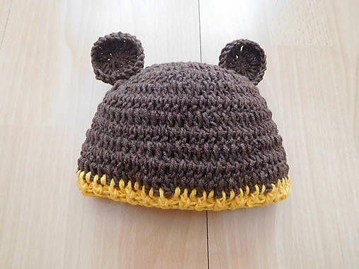 martinsen / Macko uško - novorodencecká čapička