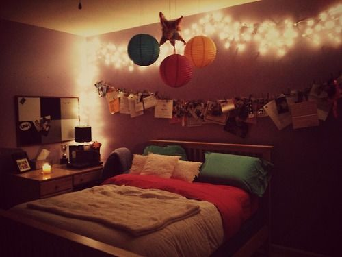 44 best images about tumblr room ideas on pinterest string lights tumblr room and dream bedroom - Tumblr teenage bedroom ...