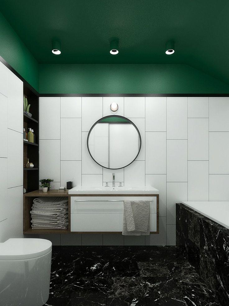 31 Bathroom Paint Color Styles That Always Look Fresh And Also Tidy 31 Bathroom Paint Color Styles Modern Bathroom Bathroom Interior Design Marble Bathroom