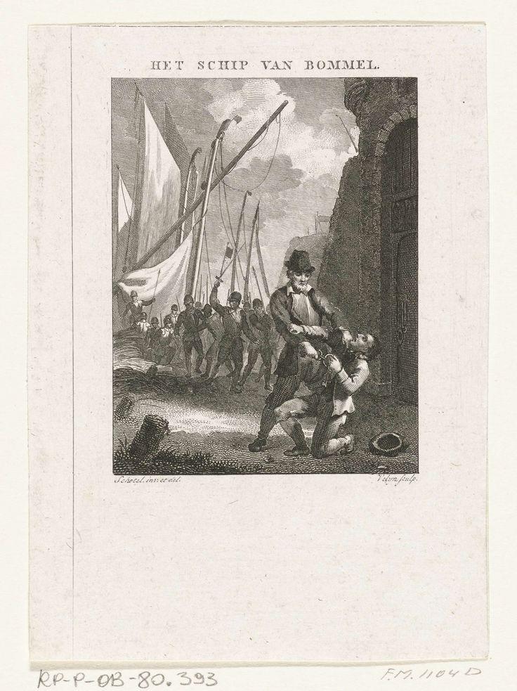 Episode uit het beleg van Zaltbommel, 1599, Philippus Velijn, 1821 - 1823