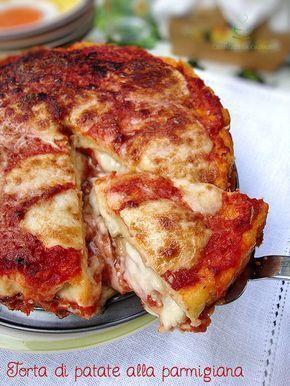 Torta di patate alla parmigiana http://blog.giallozafferano.it/graficareincucina/torta-di-patate-alla-parmigiana/