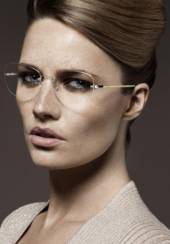 Danish Lindberg frames are made with precious materials such as titanium and diamonds