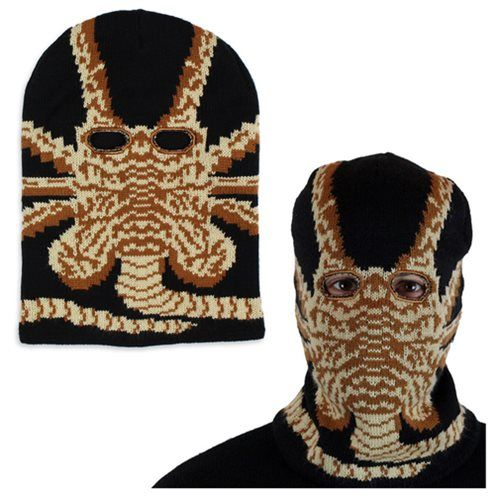 8e2f9b730f8 Alien Facehugger Ski Mask - Mondo - Alien   Aliens - Apparel at Entertainment  Earth