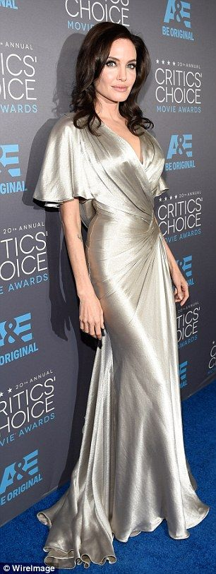Inside Critics' Choice Awards with Jennifer Aniston and Angelina Jolie | Daily Mail Online