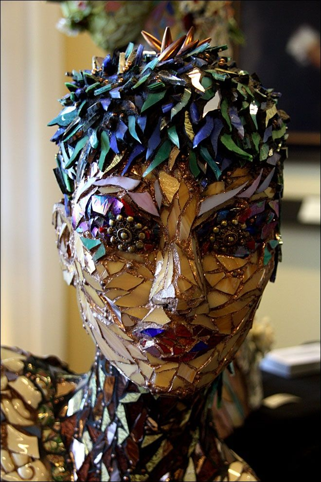 Amazing creation #design #mosaic #art
