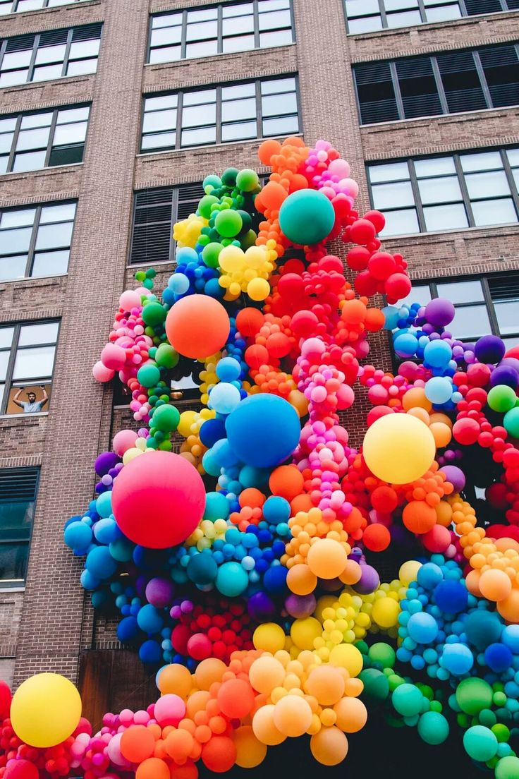 Colourfull balloons