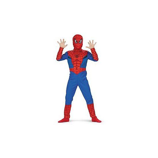 Spiderman kostuum voor jongens. Een nagenoeg echt Spiderman kostuum voor jongens van 7 tot 8 jaar! Ga verkleed als je favoriete stripheld met dit gave kostuum! Bestaat uit een jumpsuit en masker. Carnavalskleding 2015 #carnaval