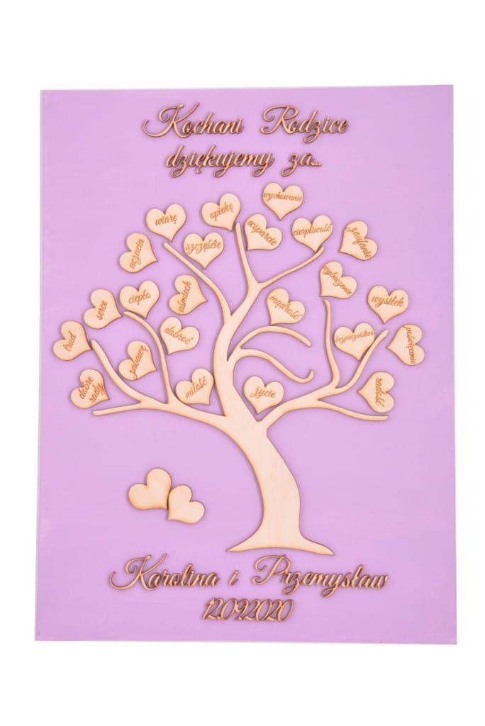 Kolorowe Podziekowanie Drzewko Dla Rodzicow Giftofdreamspl Wedding Wishes Birthday Wishes Birthday