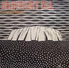 Mini Heath cover design for Midnight Oil album