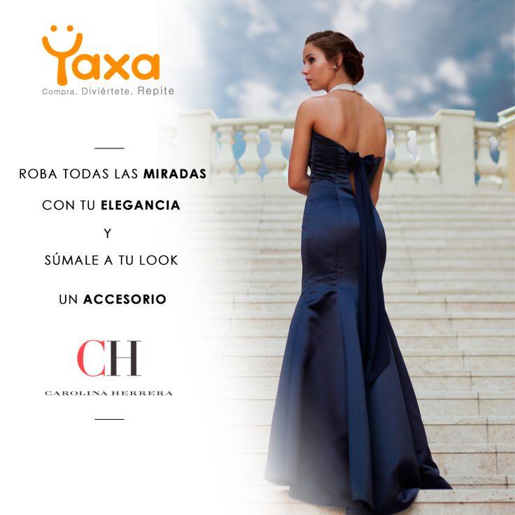 Diseño para Yaxa.co #Carolinaherrera