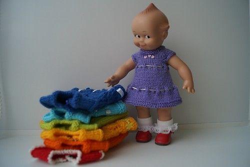 Каждый охотник желает знать....Радужная коллекция для куколки Кьюпи. / Одежда и обувь для кукол - своими руками и не только / Бэйбики. Куклы фото. Одежда для кукол