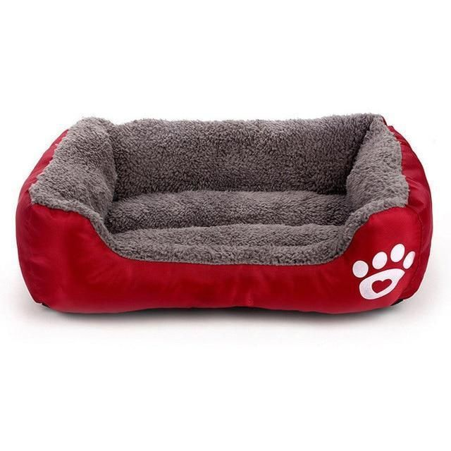 Large Pet Cat Warming Bed Puppy Cushion House Pet Soft Warm Kennel