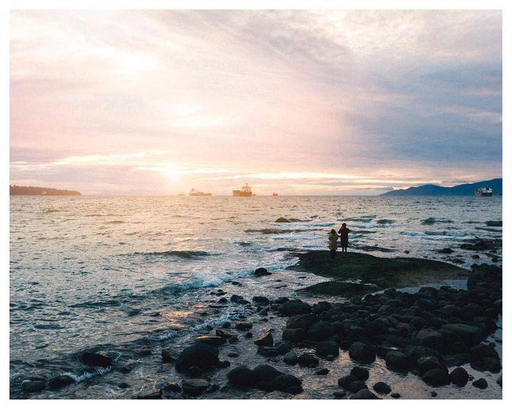 Watching the tides at Stanley Park. @vancity British Columbia