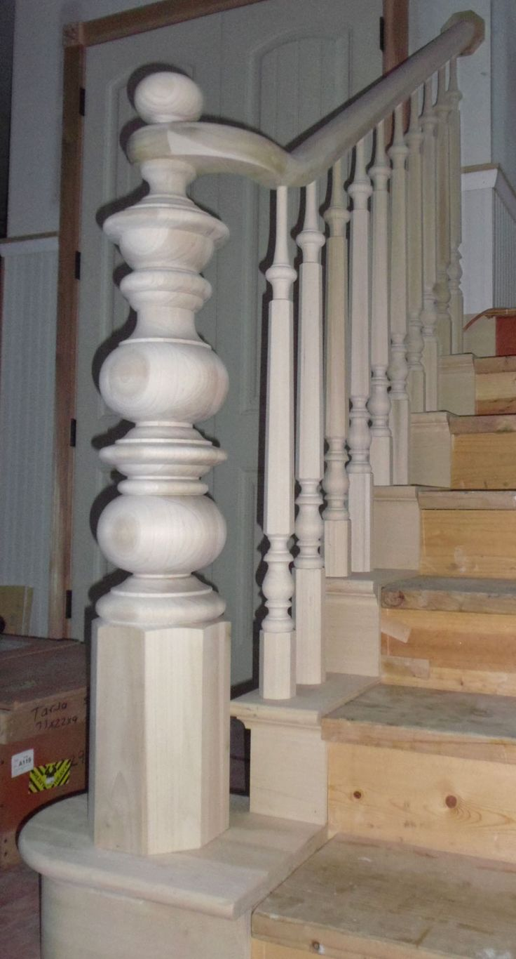 Like this without the topper. Turned Newel Posts › Kinzel Wood Products