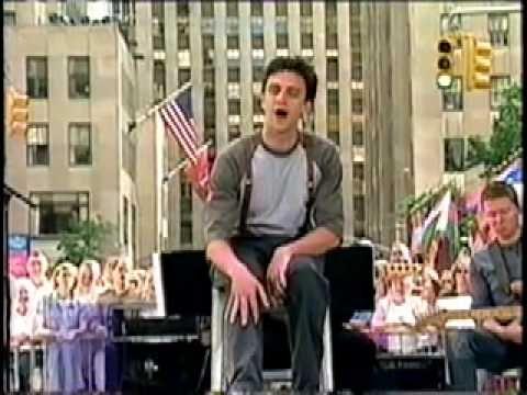 tick tick BOOM The Today Show Saturday on the Plaza June 2001 Raúl Esparza, Amy Spanger, Jerry Dixon
