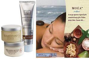 Perawatan Tubuh Alami Dengan MOÉA™ SPA Pack Body Care.  Isi 1 Set: MOÉA™ Body Butter, MOÉA™ Body Soufflé, MOÉA™ Sugar Scrub.    Harga Retail: Rp 600.000,-  Pemesanan: http://rajanoni.com/perawatan_tubuh_alami_dengan_moea_spa_pack_body_care/