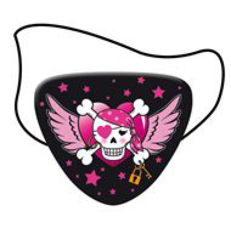 Voor de echte Pirate Girl look de ooglapjes  8 stuks Vlaggenclub