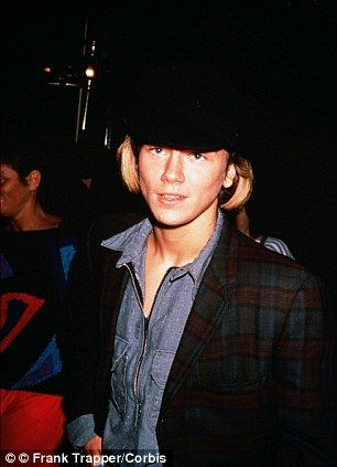 Tragic: River Phoenix pictured here in 1991 was tipped for mega-stardom before his death two years later from a drugs overdose in LA