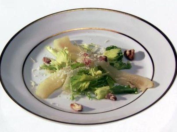 Salada com Peras e Vinagrete Cítrico-Balsâmico - Food Network
