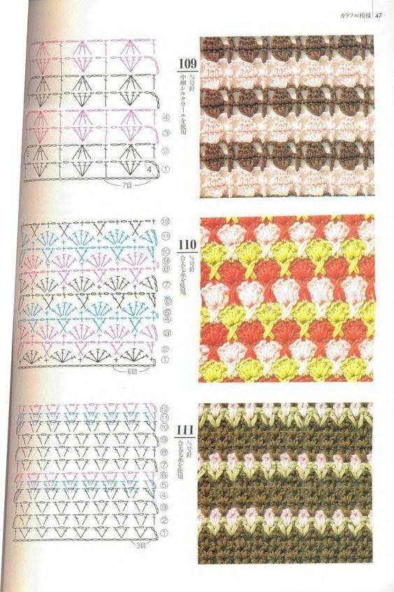 Mantas crochet con patrones, hermosas ideas para tus proyectos en ...