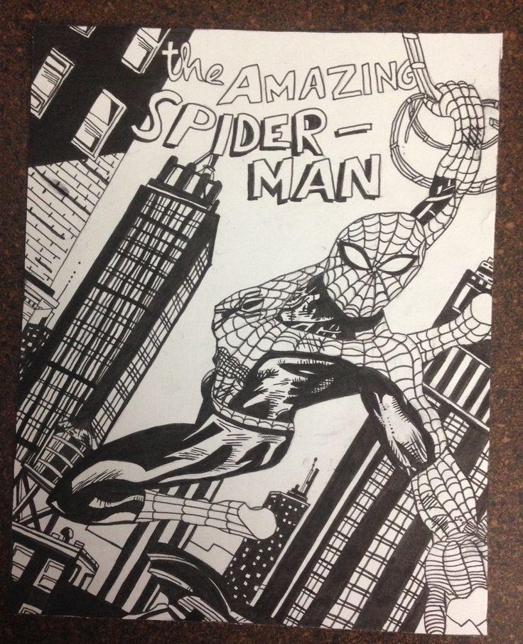 Spider Man - Ink