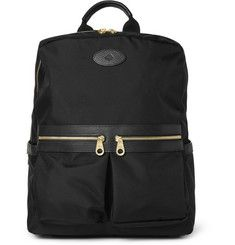 Mulberry - Henry Leather-Trimmed Nylon Backpack | MR PORTER