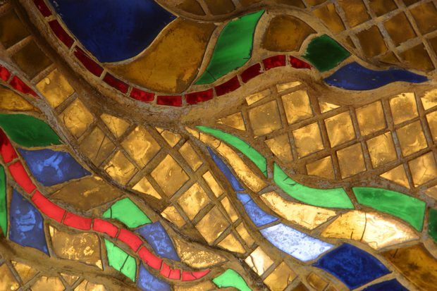Cómo crear collage con trozos de papel y arte fino sobre mosaico ...