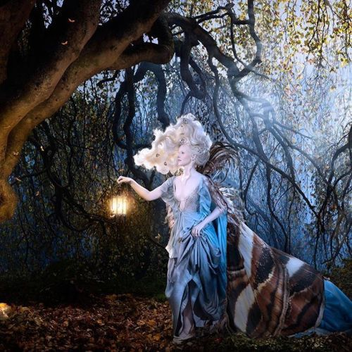 @alexiasinclair here for this weeks Phase One Instagram takeover! This is the last day of my takeover I hope you have enjoyed it! This is Titania Kissed by the Moon. In 2015 I produced the second artwork from my ongoing series Into the Gloaming. Its an homage to Titania a character from William Shakespeares A Midsummer Nights Dream. Titania queen of the fairies carries a lantern surrounded by moths and leads us into a majestic moonlit forest. To make her 2 metre long cape I photographed moth…