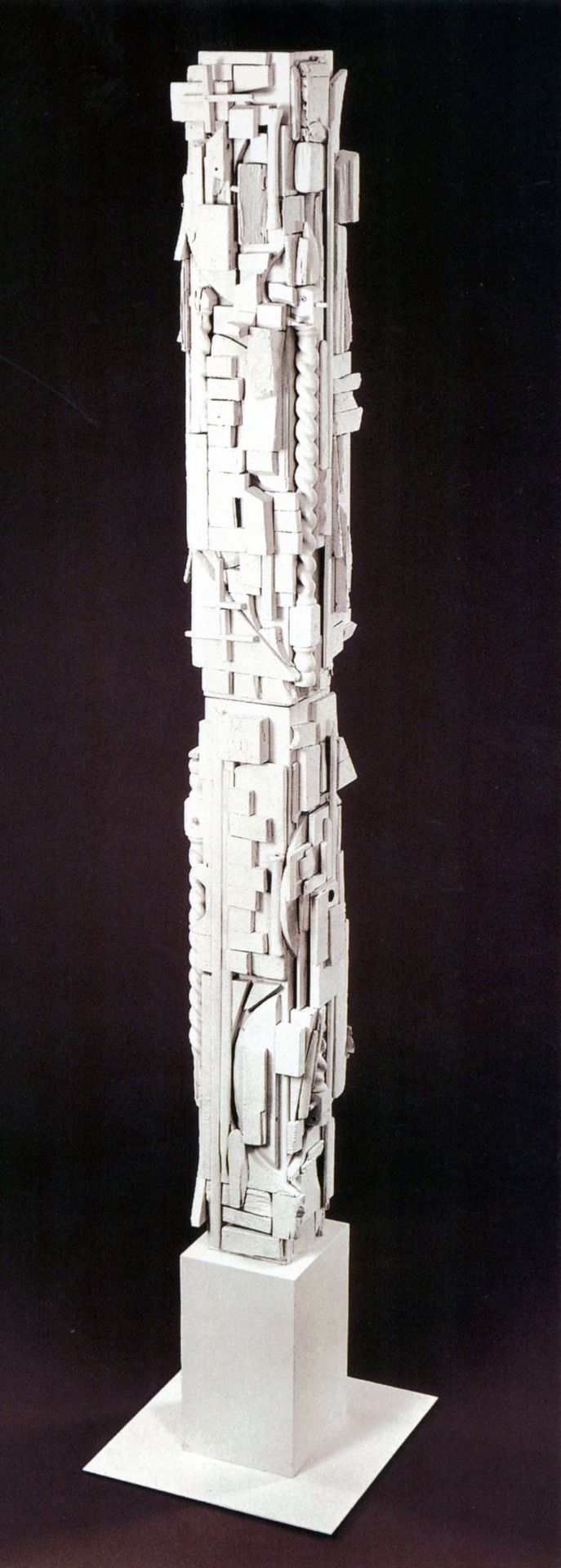 Louise Nevelson - White Column, From: Dawn's Wedding Feast, 1959