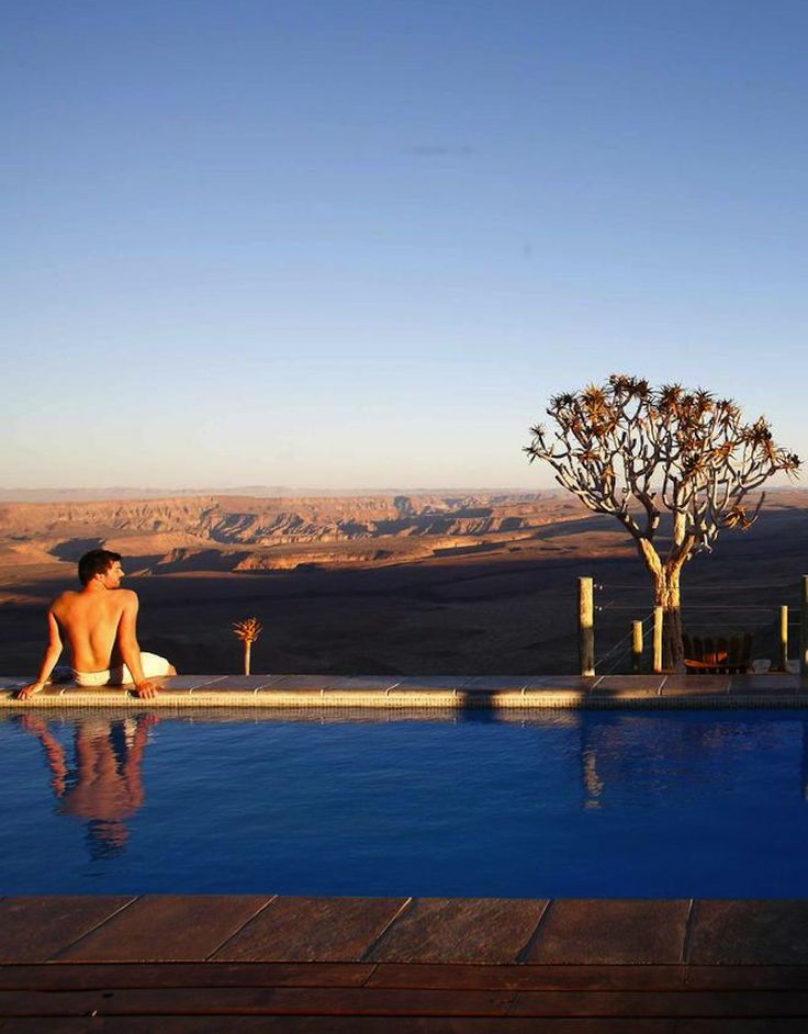 Spectacular views at the Fish River Lodge