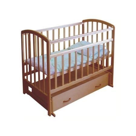 """Фея Кровать детская  — 7080р. ---------------------------------- Кровать детская """"Орех"""" марки Фея. Детская кровать обеспечит комфортный и здоровый сон малыша с самого рождения. Изготовлена из натуральной древесины (массив березы), безопасна и удобна в использовании. Высота дна фиксируется в двух положениях. Передняя планка опускается. Приятная особенность этой модели - наличие беззвучного маятникового механизма поперечного качания. Предусмотрен выдвижной ящик для детских вещей. Полезная…"""