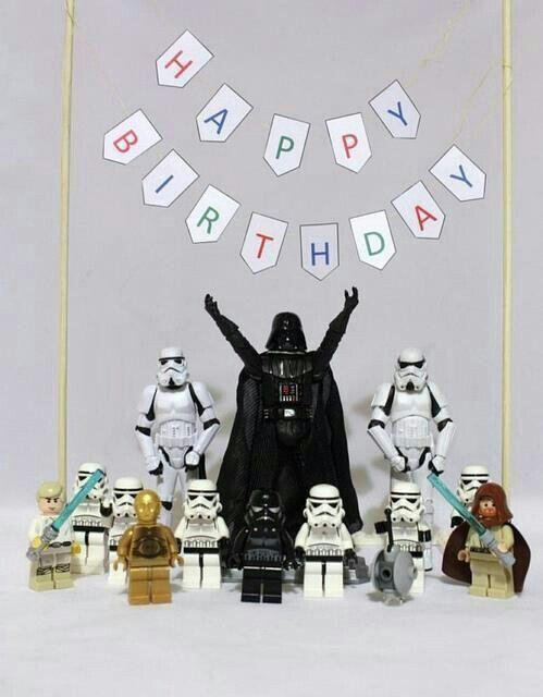 Открытка на день рождения звездные войны