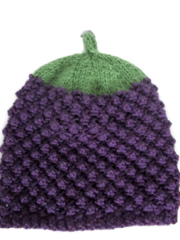 Hand Knitted Blackberry Hat, £16.99