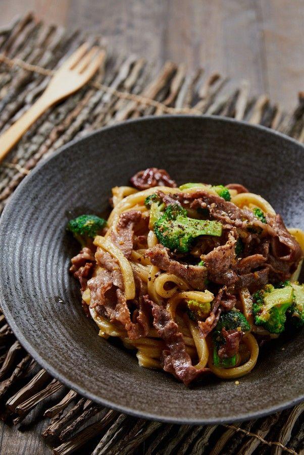 Beef and Broccoli Yakiudon Stir-Fry Makes an Easy, Delicious Meal | Fresh Tastes Blog | PBS Food